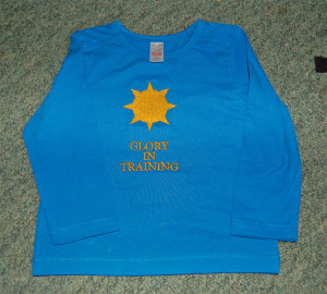 Child's embroidered top