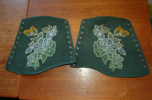 Embroidered Vambraces